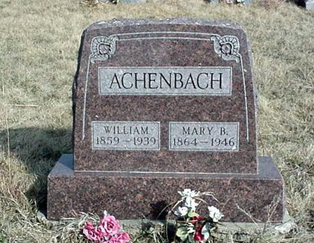 ACHENBACH, MARY B. - Jefferson County, Iowa | MARY B. ACHENBACH