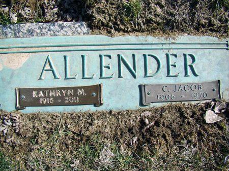 ALLENDER, CLARENCE JACOB