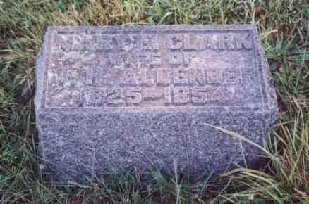 CLARK ALLENDER, MARY E - Jefferson County, Iowa | MARY E CLARK ALLENDER