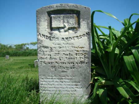 ANDERSON, ANDERS - Jefferson County, Iowa   ANDERS ANDERSON