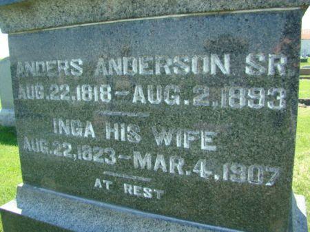ANDERSON, ANDERS SR. - Jefferson County, Iowa | ANDERS SR. ANDERSON