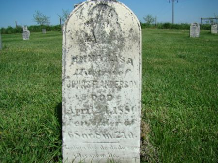 ANDERSON, ANNA LISA - Jefferson County, Iowa | ANNA LISA ANDERSON