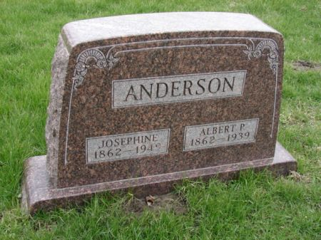 ANDERSON, JOSEPHINE - Jefferson County, Iowa | JOSEPHINE ANDERSON