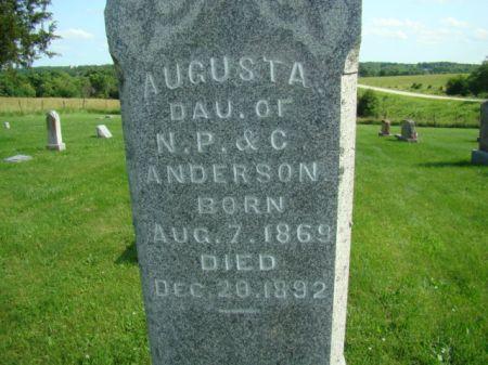 ANDERSON, AUGUSTA - Jefferson County, Iowa | AUGUSTA ANDERSON