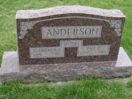 ANDERSON, FLORENCE A - Jefferson County, Iowa | FLORENCE A ANDERSON