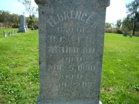 ASHMEAD, FLORENCE B - Jefferson County, Iowa | FLORENCE B ASHMEAD