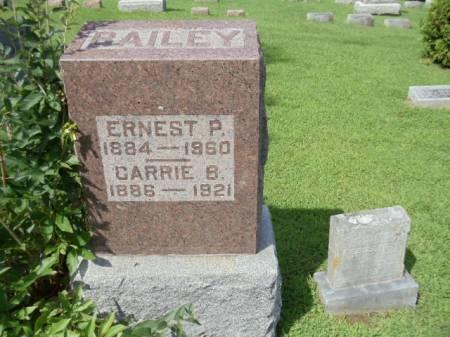 BAILEY, ERNEST PATRICK - Jefferson County, Iowa   ERNEST PATRICK BAILEY