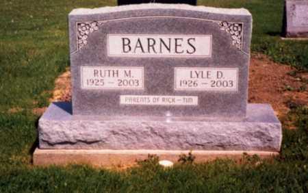 BARNES, RUTH M. - Jefferson County, Iowa | RUTH M. BARNES