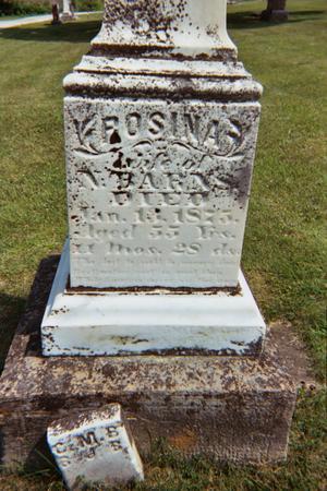 BARNS, ROSINA - Jefferson County, Iowa | ROSINA BARNS