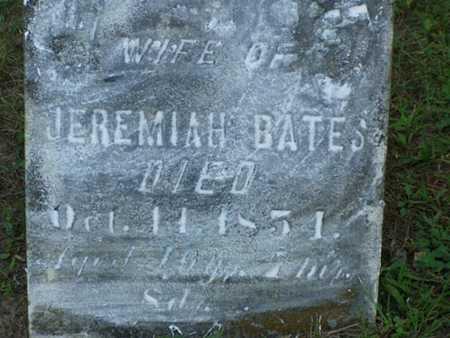 BATES, ELIZABETH - Jefferson County, Iowa | ELIZABETH BATES