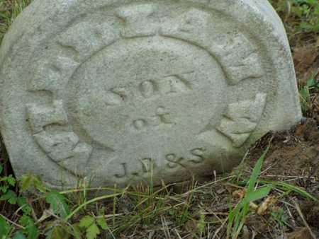 BATES, WILLIAM W. - Jefferson County, Iowa | WILLIAM W. BATES