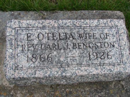BENGSTON, E OTELIA - Jefferson County, Iowa   E OTELIA BENGSTON