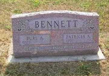 BENNETT, BURL A. - Jefferson County, Iowa | BURL A. BENNETT
