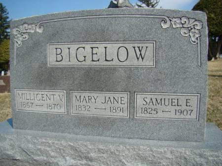BIGELOW, SAMUEL E - Jefferson County, Iowa | SAMUEL E BIGELOW
