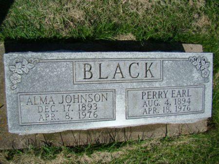 BLACK, ALMA - Jefferson County, Iowa | ALMA BLACK
