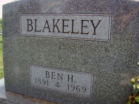 BLAKELEY, BENJAMIN H - Jefferson County, Iowa   BENJAMIN H BLAKELEY