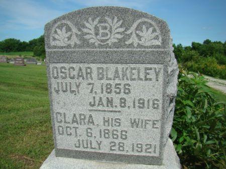 BLAKELEY, CLARA - Jefferson County, Iowa | CLARA BLAKELEY