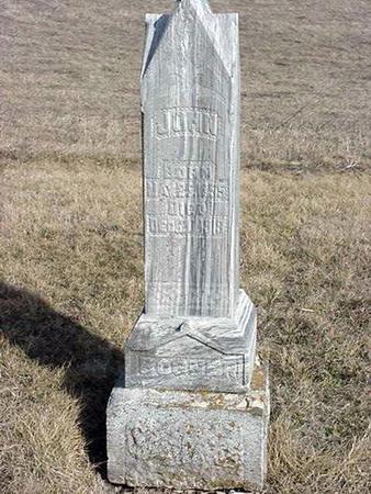 BOGNER, JOHN - Jefferson County, Iowa | JOHN BOGNER