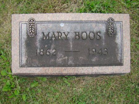 BOOS, MARY ANNA - Jefferson County, Iowa | MARY ANNA BOOS