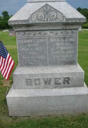 CLINE BOWER, RUTH ANN - Jefferson County, Iowa | RUTH ANN CLINE BOWER