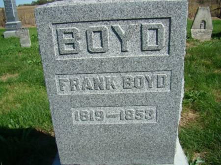 BOYD, FRANK - Jefferson County, Iowa   FRANK BOYD