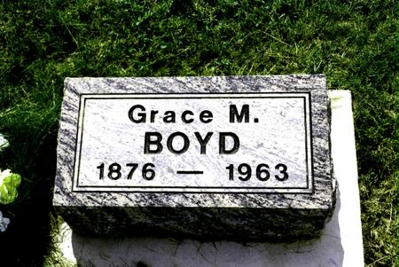 BOYD, GRACE - Jefferson County, Iowa | GRACE BOYD
