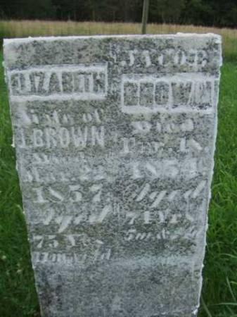 BROWN, ELIZABETH - Jefferson County, Iowa | ELIZABETH BROWN