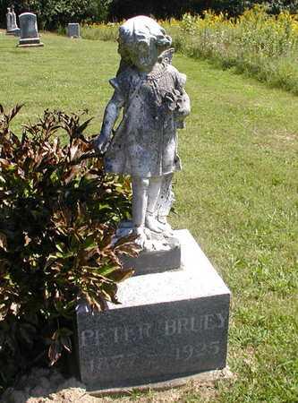 BRUEY, PETER - Jefferson County, Iowa | PETER BRUEY