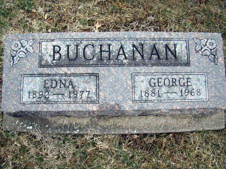 ZIGLAR BUCHANAN, EDNA W - Jefferson County, Iowa | EDNA W ZIGLAR BUCHANAN
