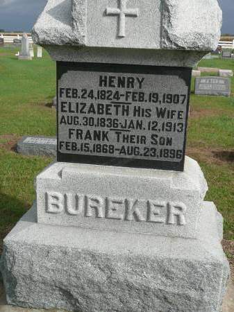 BUREKER, HENRY - Jefferson County, Iowa | HENRY BUREKER