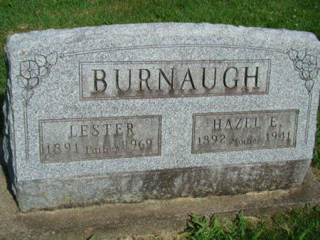 BURNAUGH, HAZEL EVA - Jefferson County, Iowa | HAZEL EVA BURNAUGH