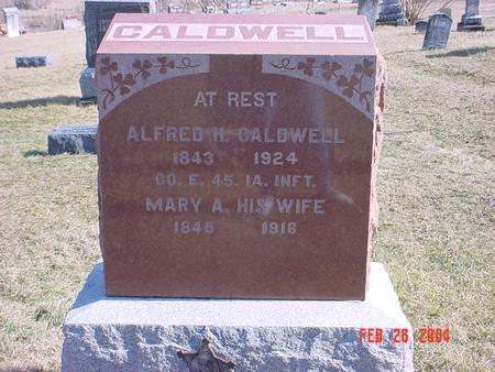 HUDSON CALDWELL, MARY ANN - Jefferson County, Iowa | MARY ANN HUDSON CALDWELL