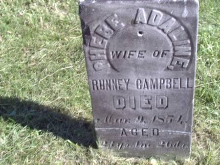 CAMPBELL, PHEBE ADALINE - Jefferson County, Iowa | PHEBE ADALINE CAMPBELL
