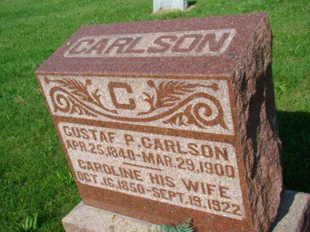 CARLSON, GUSTAF P - Jefferson County, Iowa | GUSTAF P CARLSON