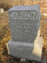 CARSON, RACHEL V. - Jefferson County, Iowa   RACHEL V. CARSON
