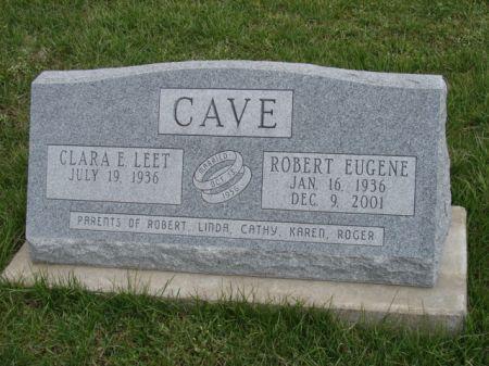 LEET CAVE, CLARA ELIZABETH - Jefferson County, Iowa   CLARA ELIZABETH LEET CAVE