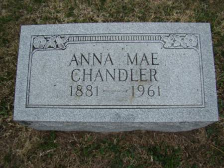 KANN CHANDLER, ANNA MAE - Jefferson County, Iowa | ANNA MAE KANN CHANDLER
