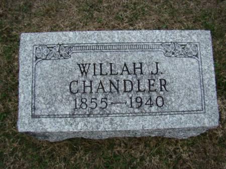 COCHRAN CHANDLER, WILLAH JANE - Jefferson County, Iowa | WILLAH JANE COCHRAN CHANDLER