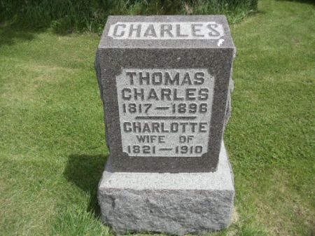 CHARLES, CHARLOTTE - Jefferson County, Iowa   CHARLOTTE CHARLES