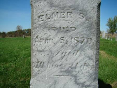 CLARK, ELMER S - Jefferson County, Iowa   ELMER S CLARK