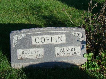 COFFIN, BEULAH - Jefferson County, Iowa   BEULAH COFFIN