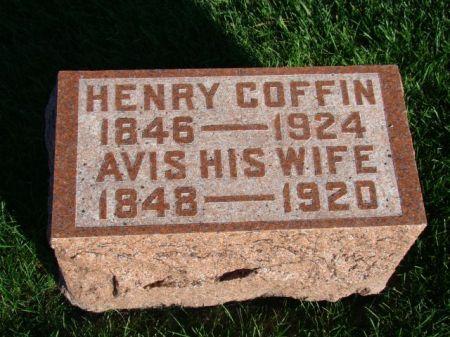 COFFIN, HENRY - Jefferson County, Iowa | HENRY COFFIN