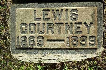 COURTNEY, LEWIS - Jefferson County, Iowa   LEWIS COURTNEY