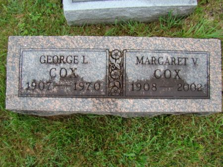 COX, MARGARET - Jefferson County, Iowa | MARGARET COX
