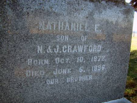 CRAWFORD, NATHANIEL E - Jefferson County, Iowa | NATHANIEL E CRAWFORD