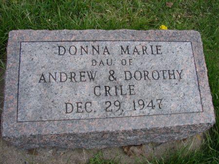 CRILE, DONNA MARIE - Jefferson County, Iowa   DONNA MARIE CRILE
