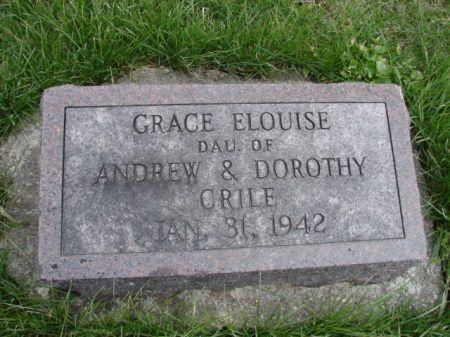 CRILE, GRACE ELOUISE - Jefferson County, Iowa | GRACE ELOUISE CRILE