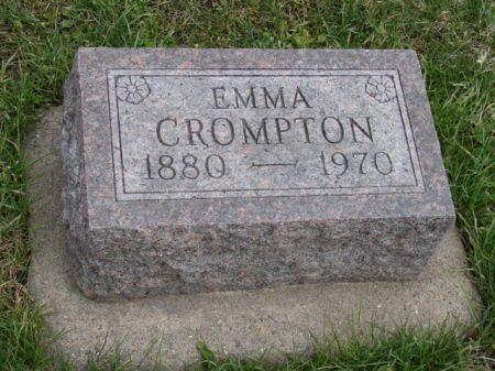 JOHNSON CROMPTON, EMMA - Jefferson County, Iowa | EMMA JOHNSON CROMPTON