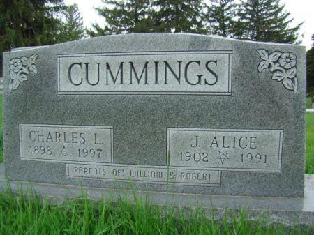 CUMMINGS, JENNIE ALICE - Jefferson County, Iowa | JENNIE ALICE CUMMINGS