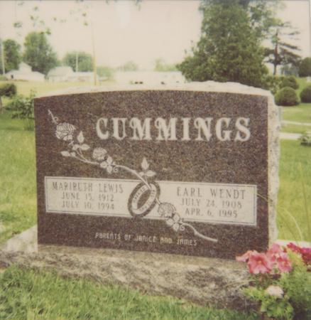 CUMMINGS, MARIRUTH - Jefferson County, Iowa | MARIRUTH CUMMINGS